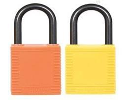 贝迪 Brady 异芯,红色143150/Y1453935 安全挂锁