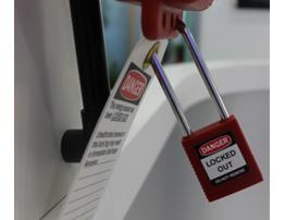 贝迪 Brady 异芯红色834245/Y2344094 安全挂锁