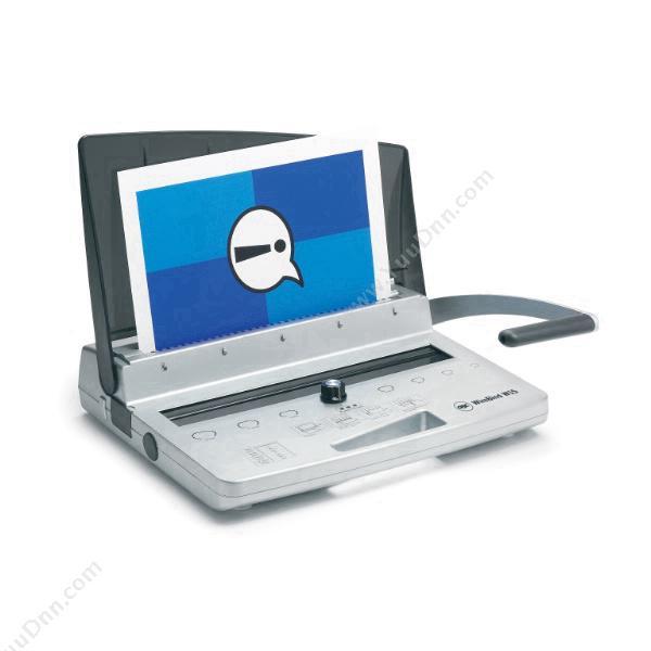 杰必喜WireBind W15    单次打孔:15张,装订页数:125张,铁圈尺寸:14MM手动打孔铁圈装订机