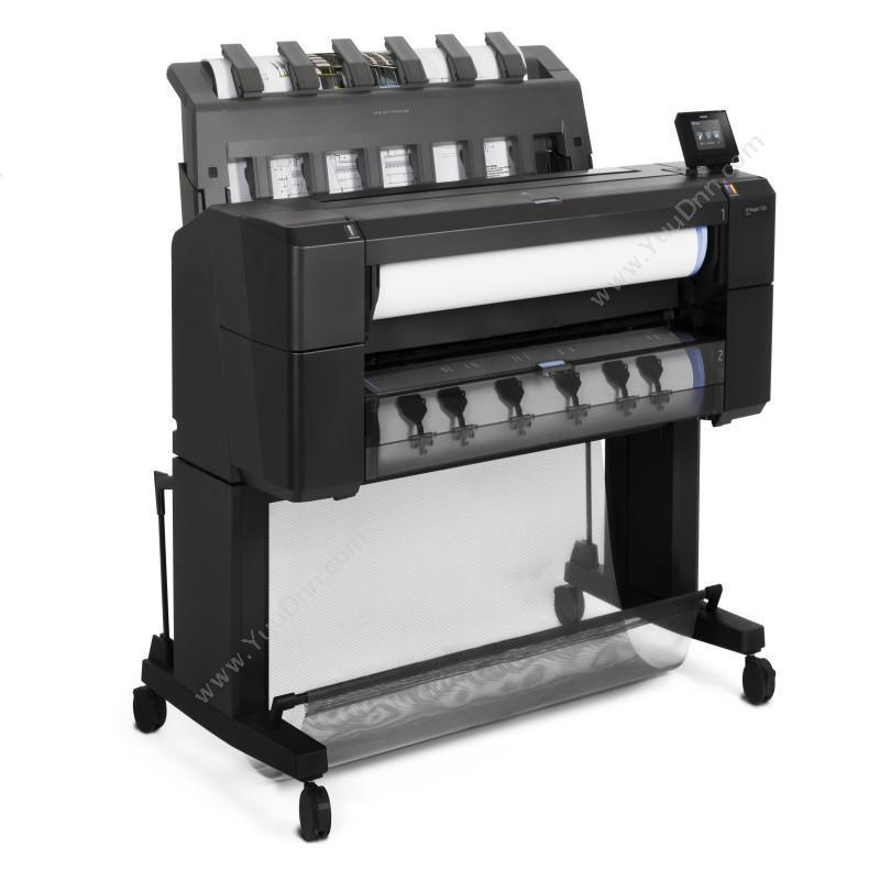 惠普 HPDesignJet T930  (含PS打印套件/一年服务)   36英寸(A0+)宽幅打印机/绘图仪