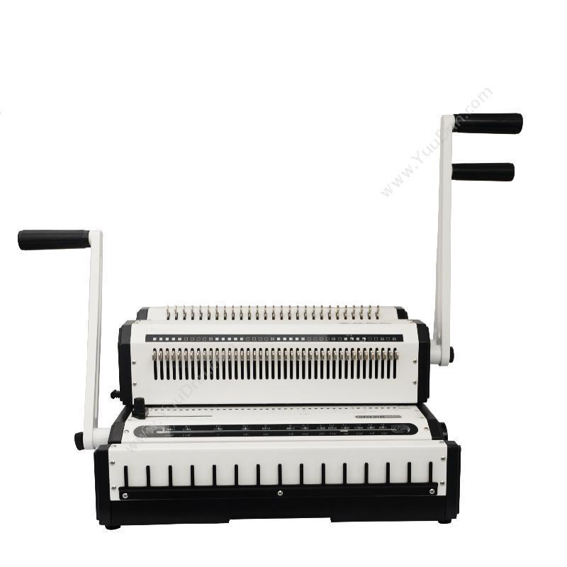 优玛仕 UmachU-WW2500 铁圈(3:1和2:1)两用  乳(白)手动打孔铁圈装订机