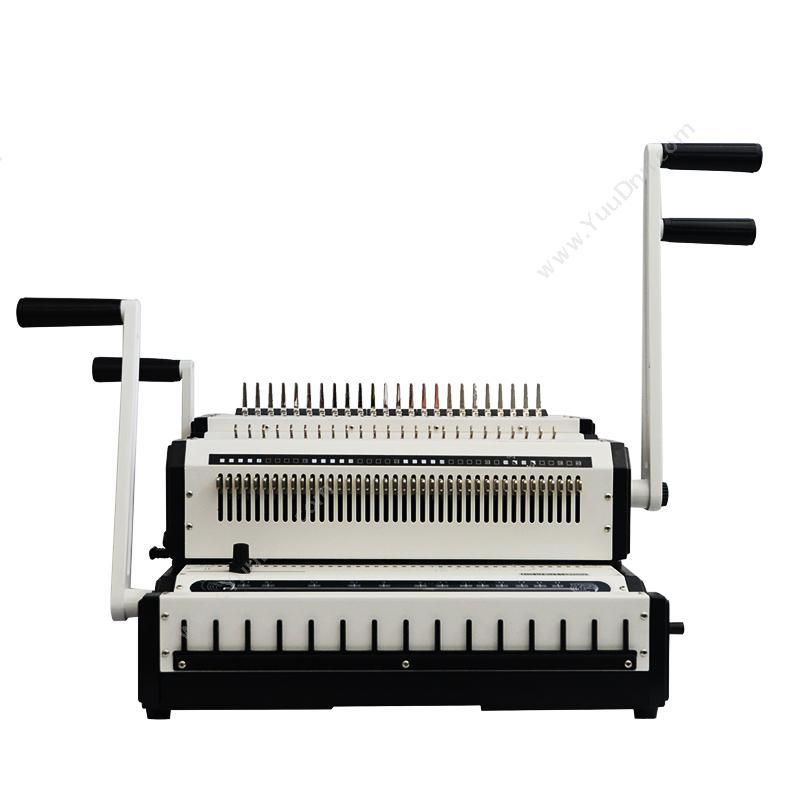 优玛仕 UmachU-CW2500 梳式/铁圈两用  乳(白)手动打孔铁圈装订机