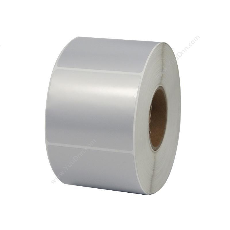 艾利 Avery 80*35mm 热敏合成夹层标签(染一色,1000PCS)银(白) 热敏不干胶标签