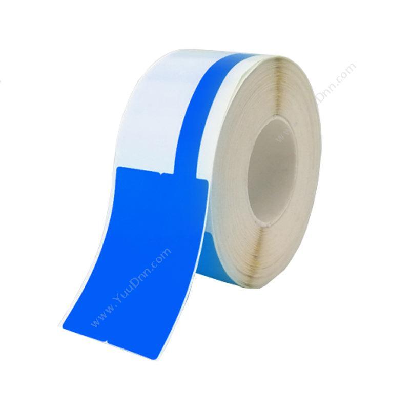 威标 weilabel RM02F-100BL 热敏 38*25+40mm 100张/卷 (蓝) 热敏不干胶标签