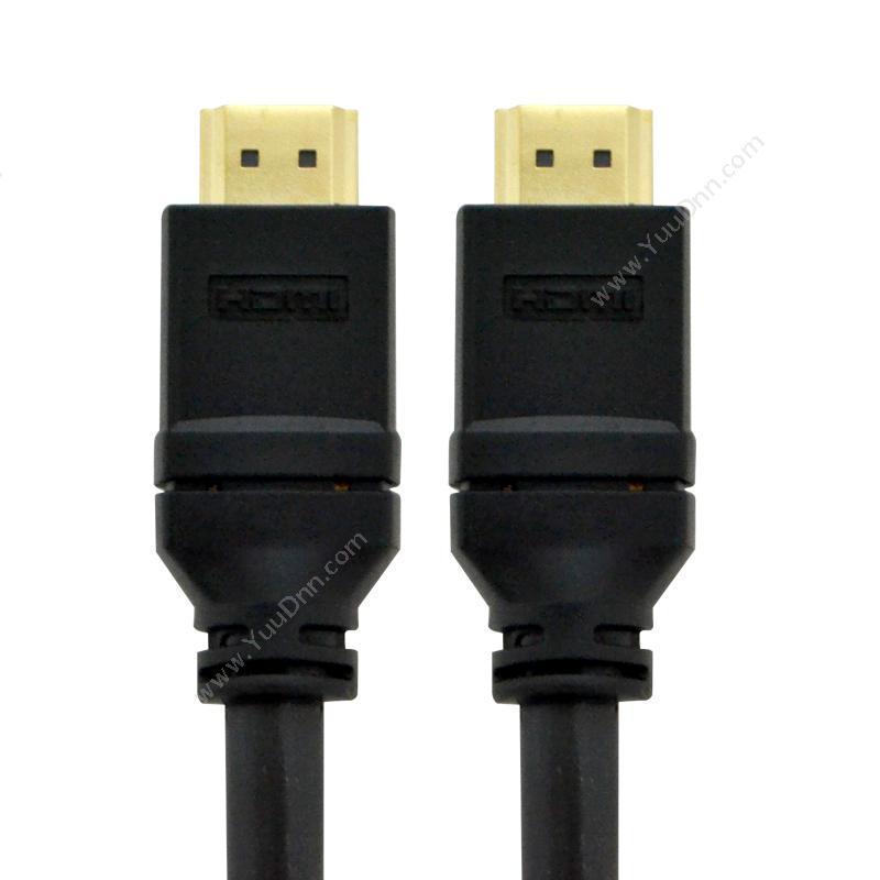 酷比客 L-CubicLCAVHHSG14HSE-10M 电脑投影机电视连接线(黑) 链接电脑投影机电视视频线