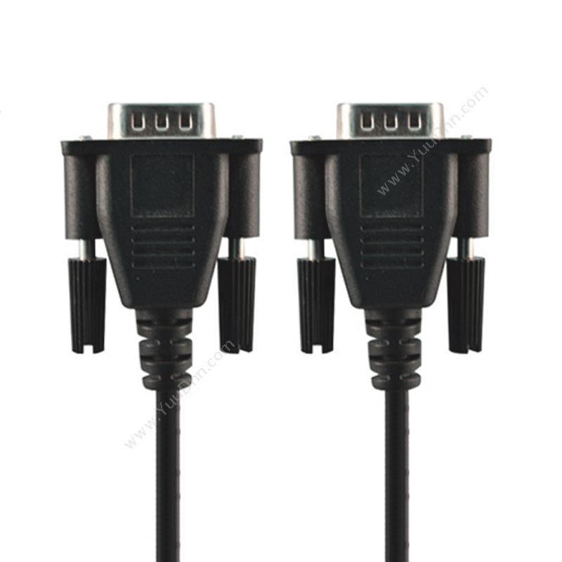 酷比客 L-CubicLCAVSSVGA-15M VGA电脑投影机电视连接线  15M (黑) 电脑投影机电视连接线视频线