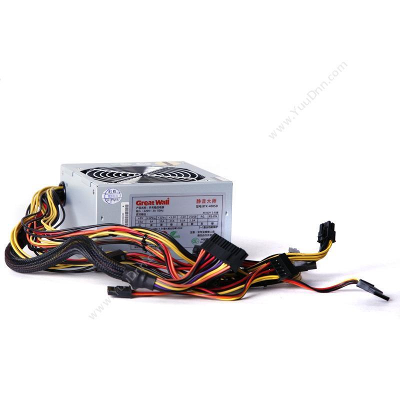 长城 GreatWall BTX-400SD 台式机电源 额定功率300W 机箱电源