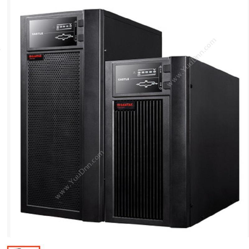 山特 Santak UPS 主机(含16节电池+1个电池柜)(灰) 机箱电源