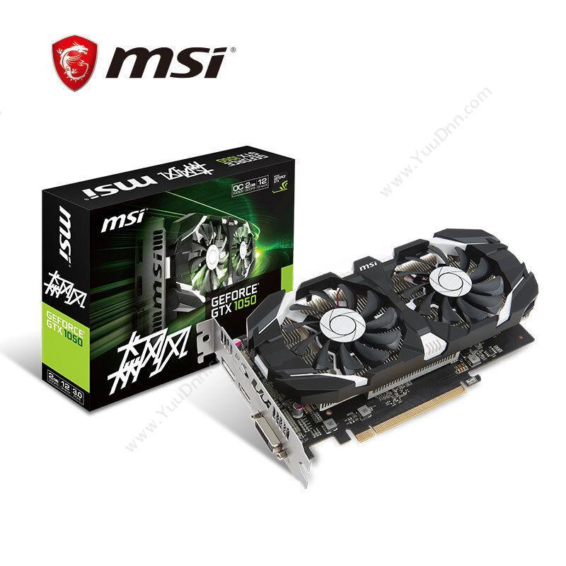 微星 MSI GTX1050 显卡
