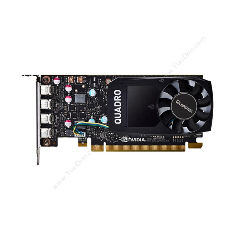 丽台 Leadtek Quadro P620 显存 NVIDIA 2GB GDDR5(黑) 显卡