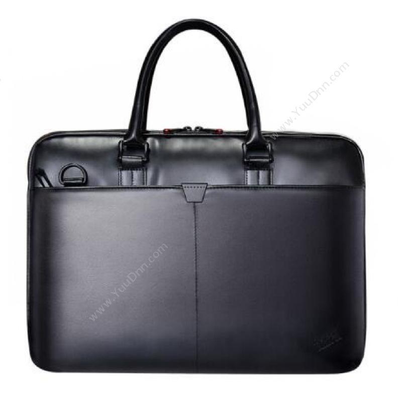 联想 LenovoT300黑 原装电脑包 皮革(黑)  休闲手提笔记本包单肩笔记本包