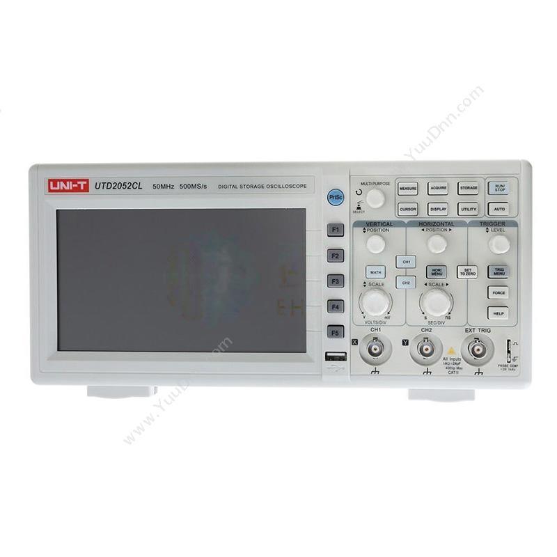 优利德UNI-TUTD2052CL 数字储存便携式示波器