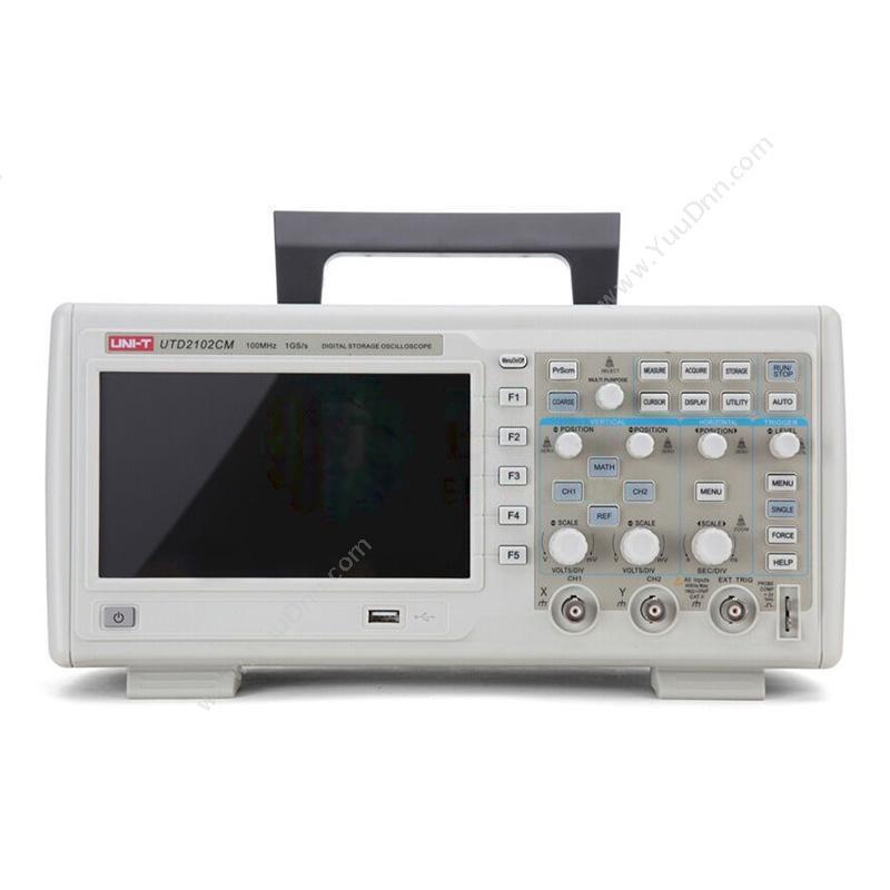 优利德UNI-TUTD2102CM 数字储存便携式示波器
