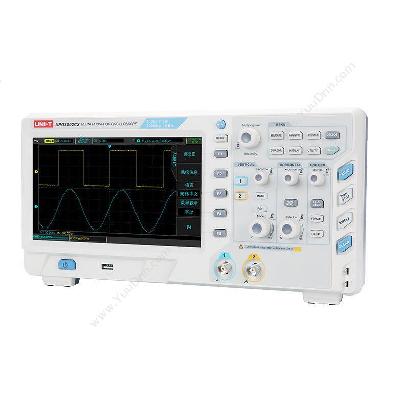 优利德UNI-TUPO2202CS 数字荧光便携式示波器