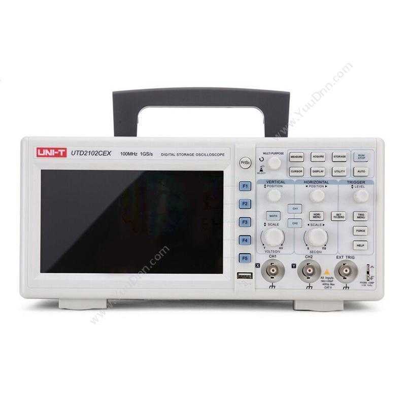优利德UNI-TUTD2102CEX 数字储存便携式示波器