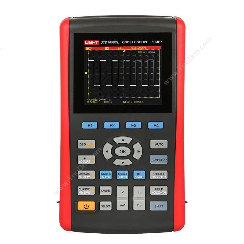 优利德UNI-TUTD1050DL 手持式数字存储便携式示波器