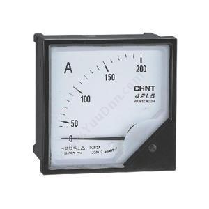 正泰 42L6-A 75/5A 安装式  次级电流:5A 表盘尺寸:120mm 交流电流表