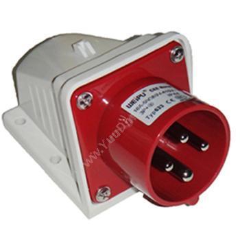 威浦明装输入插座 IP44 16A 380V 4P TYP633明装插座