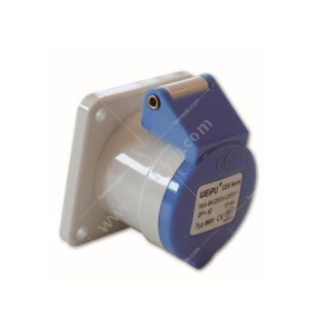 威浦 暗装直式插座 IP44 16A 220V 3P TYP5601 暗装直式插座