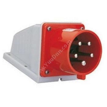 威浦明装输入插座 IP44 16A 380V 5P TYP635明装插座
