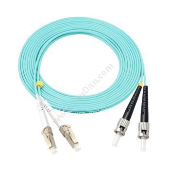 安普 AMP1-2105035-0 双芯万兆多模OM3光纤跳线 LC-ST 10米其它多芯电力电缆