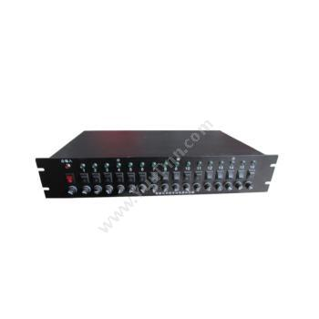 英谷16路2U机架式监控电源YG-F12-1000W-16P安防电源