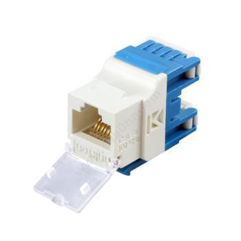 英科通超五类非屏蔽免打模块 YM5E12(蓝)超五类网线