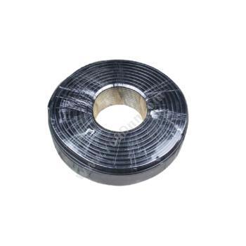 众程 ZCRVV8*0.75 八芯软电缆 (黑) 100m/卷八芯电力电缆