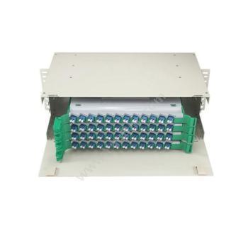 金坤宇 48口96芯 ODF光纤配线架 LC单模满配 ODF96LC01 光纤配线架