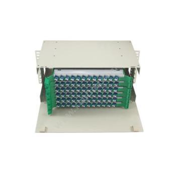 金坤宇 72芯 ODF光纤配线架 LC单模满配 ODF72LC01 光纤配线架