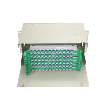 金坤宇 72口144芯 ODF光纤配线架 LC万兆多模满配 ODF144LC03 光纤配线架