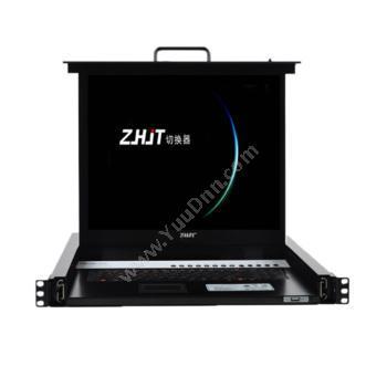 纵横九天 ZHJTCAT5网口 32口机架式19寸四合一切换器 SL2932C不含模块KVM切换器