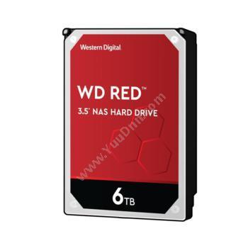 西部数据 WDWD60EFAX 红盘 SATA 6Gb/s NAS硬盘NAS网络存储