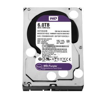 西部数据 WDWD60EJRX 紫盘(Purple)6TBNAS网络存储