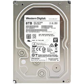 西部数据 WDHUS728T8TALE6L4 8T SATA企业级硬盘NAS网络存储