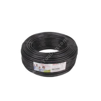 德力西 DelixiRVV2*2.5 软电线 (黑) 100/卷定制软电线