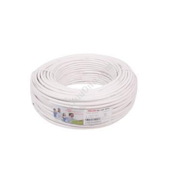 德力西 DelixiRVV2*0.75 软电线 (白) 100/卷定制软电线