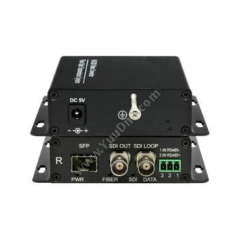 鑫海视拓FV-SDI-S6100-10 1路SDI非压缩高清光端机视频光端机