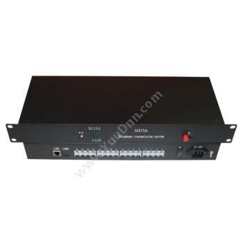 鑫海视拓FV-16T1Eth 16路电话+1路100M以太网单模单纤光端机 20KM视频光端机