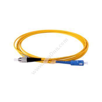 安普康 AmpComAMSMUPC9/125SCFC5M 单模单芯SC-FC电信级光纤跳线5米(黄)单模光纤跳线