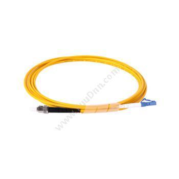 安普康 AmpComAMSMUPC9/125STLC3M 单模单芯ST-LC电信级光纤跳线3米(黄)单模光纤跳线