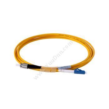 安普康 AmpComAMSMUPC9/125LCFC5M 单模单芯LC-FC电信级光纤跳线5米(黄)单模光纤跳线