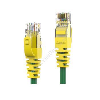 安普康 AmpCom六类非屏蔽跳线(黄) 5米 AMCAT60850(YE)六类工程网络跳线