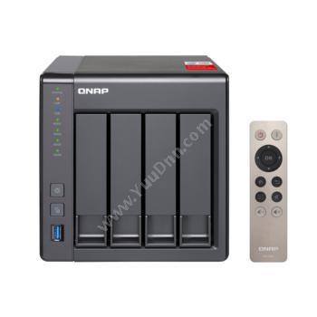 威联通 QnapTS-451+-2G-CN 千兆NAS网络存储NAS网络存储