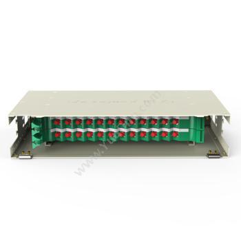 胜为 ShengWei 24芯ODF光纤配线架FC多模万兆OM3满配 ODF-1024F-O 光纤配线架