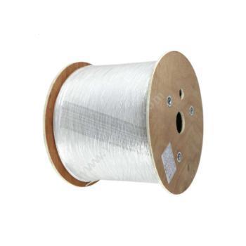 普天迅达 PotesendaGJXFH型单芯非金属加强件蝶形引入光缆 (白) 1000米/盘蝶形引入光缆