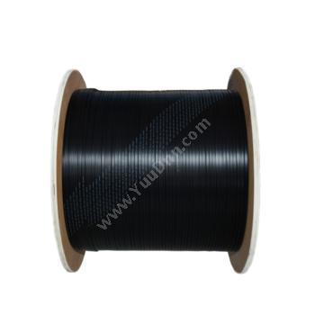 普天迅达 PotesendaGJXFH型四芯非金属加强件蝶形引入光缆 (黑) 2000米/盘蝶形引入光缆