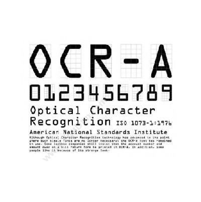 物蚂蚁OCR识读器软件解码