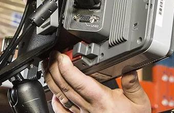 霍尼韦尔车载终端Thor VM3A外观设计紧凑且符合人体工学