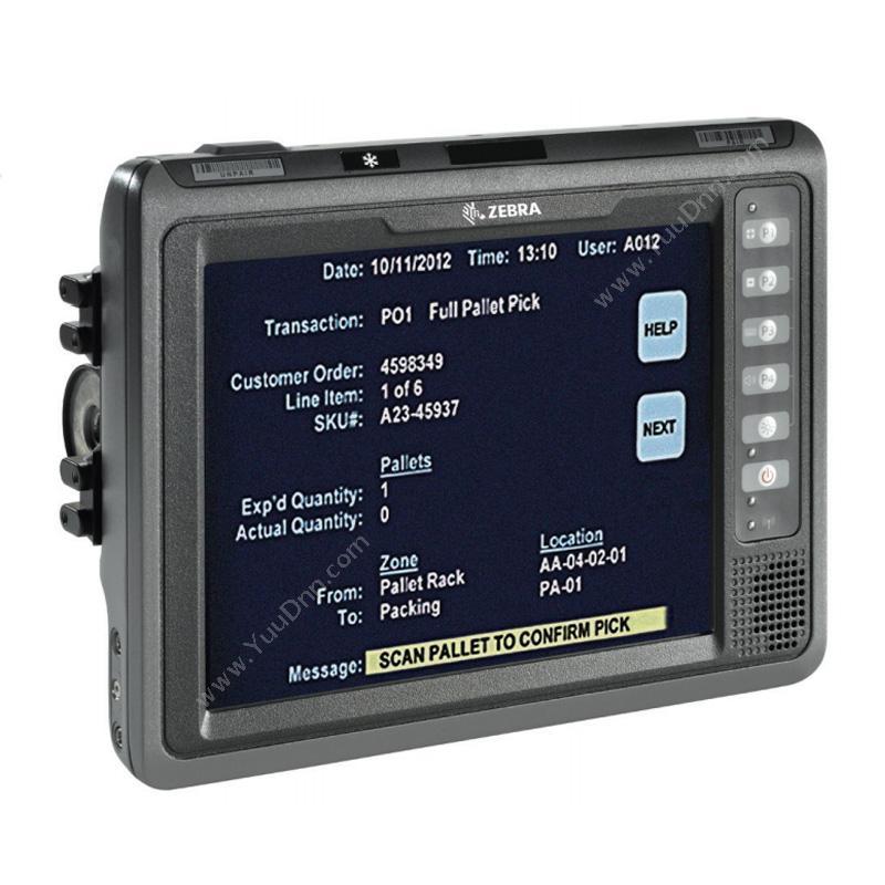 斑马 ZebraVC70N0 VLT叉车专用平板